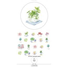 Alideco 1 sztuk Washi taśmy maskujące Retro kawy kwiat klej dekoracyjny Scrapbooking papier do majsterkowania japoński naklejki