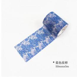 William Morris Vintage Washi taśma dekoracyjna rolka do czyszczenia ubrań maskująca taśma klejąca Scrapbooking DIY