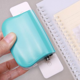 A4 (30 otworów) B5 (26 otworów) A5 (20 otworów) DIY dziurkacz er DIY luźny liść dziurkacz ręcznie luźny liść papieru dziurkacz e