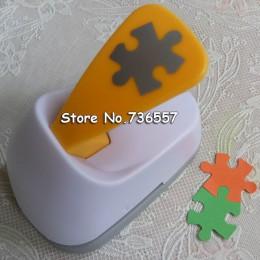 Darmowa wysyłka M rozmiar Puzzle w kształcie oszczędzania energii papieru/pianki eva dziurkacz ręczny notatnik Handmade dziurkac