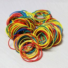 100 sztuk/paczka kolorowe natura opaski gumowe 38 mm School Office Home przemysłowe gumki moda papeterii pakiet posiadaczy