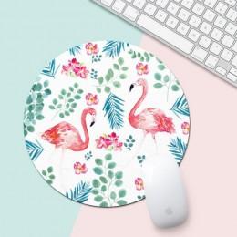Flamingo mata biurowa biurko zestaw akcesoriów szkolne organizator na biurko wysokiej jakości mysz biurko narzędzia