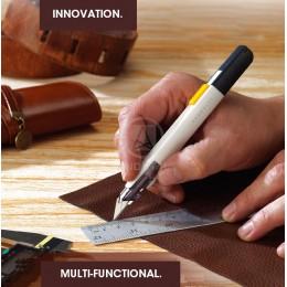 """M & G wielofunkcyjny japoński """"dobry projekt"""" precyzyjny nóż nóż introligatorski ostrza 9mm do grawerowania papieru Mini metalow"""