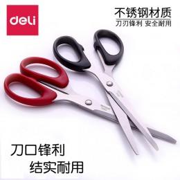 Deli 6009 nożyczki studenckie nożyczki domowe nożyczki biurowe nożyczki biurowe nożyczki ze stali nierdzewnej