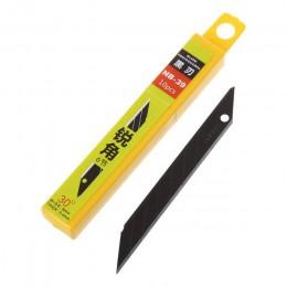 10 sztuk 30 stopni Snap Off wymiana Razor Blades 9mm ostrze do golenia nóż narzędzia ze stali węglowej NB-39/NB-41/NB-50