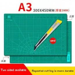 A2a3A4a5 dwustronna podkładka do cięcia duży pulpit uczeń ręka konto art nóż do rzeźbienia papier do cięcia gumowa uszczelka rze