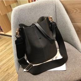 Torba damska torba na ramię o dużej pojemności vintage matowy PU torebka damska skórzana luksusowy projektant bolsos mujer czarn