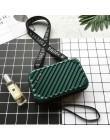 Luksusowe torebki damskie 2020 nowa walizka kształt Totes moda Mini bagaż torba kobiety znane marki Clutch Bag Mini Box Bag