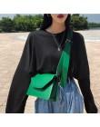 RanHuang nowy przyjeżdża 2019 kobiet Pu skórzane torby na ramię dziewczyny krótkie klapy damskie Casual Messenger torby torby Cr
