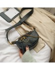 Jakość mody torby na ramię ze skóry pu dla kobiet 2020 łańcuch mała na ramię torba pani podróży torebki i portmonetki