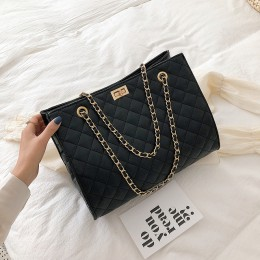Luksusowe torebki damskie torebki projektant skórzany łańcuszek duże torby na ramię Tote torebka moda Crossbody torby dla kobiet