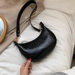 Wzór z kamieniem Retro torby na ramię ze skóry pu dla kobiet 2020 mała na ramię torba pani telefon torebki i portmonetki