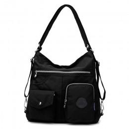 Nylonowy plecak dla kobiet naturalne szkolne torby dla nastolatków dorywczo kobiece styl preppy torby na ramię Mochila Travel Bo