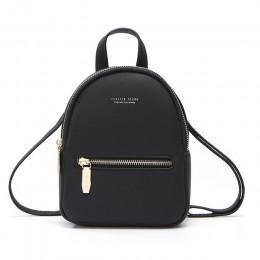 WEICHEN nowy projektant mody kobiet plecak Mini miękki w dotyku wielofunkcyjny mały plecak kobiet damska torba na ramię torebka