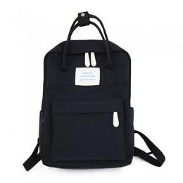 Kobiety popularne płótno plecaki cukierki kolor wodoodporne szkolne torby dla nastolatków dziewczyny plecaki na laptopa Patchwor