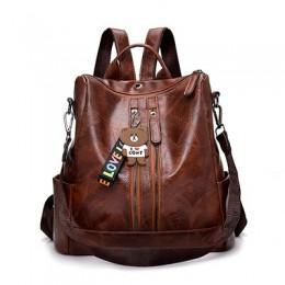 2019 moda kobiety plecak wysokiej jakości młodzieży skórzane plecaki dla nastolatek dziewczyny kobieta szkolna torba na ramię Ba