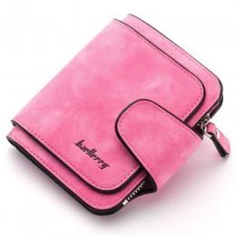 Baellerry 2020 luksusowej marki peeling skórzany portfel kobiet posiadacz karty panie torebka kobiety portfele saszetka typu Clu
