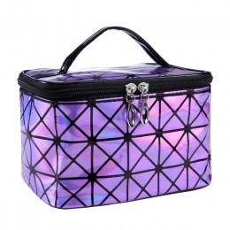 UOSC wielofunkcyjny kosmetyk torba kobiety skóra podróży makijaż niezbędne organizator Zipper torba na kosmetyki etui zestaw prz
