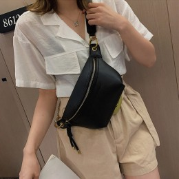 Moda damska saszetki na pas 2019 nowa damska torba na ramię marka projekt torba na klatkę piersiowa Crossbody torby wysokiej jak