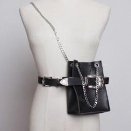 Talia torba kobiety moda łańcuszek na talię paczka pas wieloklinowy torba damska zdobienia kwiatowe klamra piterek Hot portmonet