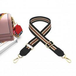 Rainbow regulowany pasek torby torebka z paskiem szeroki pasek do torby na ramię pasek zamienny dodatek do torby części regulowa