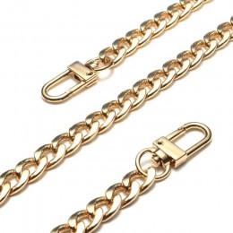20-120CM DIY torba pasek wymiana łańcucha torebka na ramię paski do torby aluminiowe łańcuchy dla małych torebki akcesoria