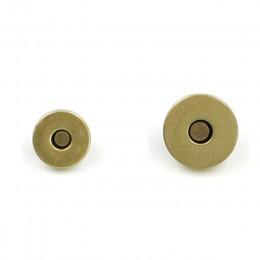 5 zestaw klasyczna jakość okrągłe zapięcie magnetyczne do torby metal srebrny torebka zatrzaski zamknięcia przycisk zatrzask akc