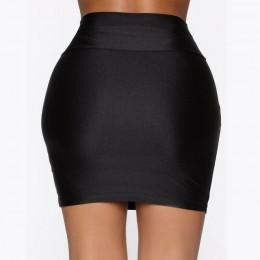 Nowa mikro krótka spódniczka kobiety lato Balck Sexy kobiet spódnice codzienny portfel krótka spódniczka na biodra kobiety Party