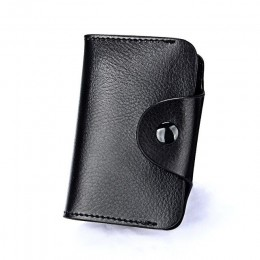 Prawdziwej skóry mężczyzna wizytownik na karty biznesowe portfel 15 etui na karty bankowe etui na karty kredytowe etui na identy