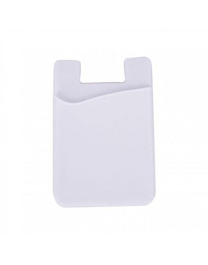 Moda samoprzylepna naklejka tylna pokrywa karty etui na uchwyt etui na telefon komórkowy kolorowy uchwyt na karty 1 sztuk