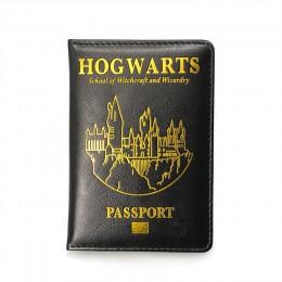 Etui na paszport HP hogwart Gryffindor Ravenclaw z etui na karty okładka na paszport hogwart