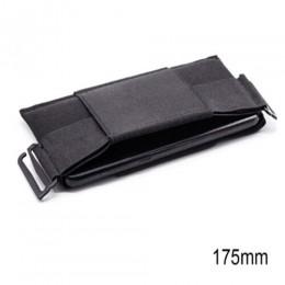 Casual Unisex minimalistyczny niewidoczny portfel kobiety mężczyźni Sport Mini ultracienki pokrowiec Solid Color bezpieczny dla