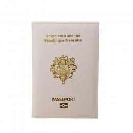 Śliczna okładka na paszport francja oryginalne wydanie Passeport okładki dla Francais Girls Pasport etui passeport France