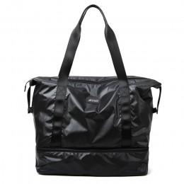 Bagaż podróżny worek marynarski nylonowa torba na siłownię sucha mokra separacja torba do jogi wielofunkcyjne torebki o dużej po
