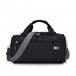 Scione mężczyźni torby sportowe podróżne lekki bagaż biznes Cylinder torebka kobiety Outdoor Duffel Weekend torba na ramię Cross