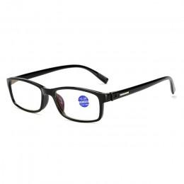 Iboode TR90 Ultralight Anti Blue-Ray okulary do czytania blokujące niebieskie światło okulary do czytania nadwzroczność czytniki