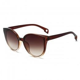 LongKeeper okulary przeciwsłoneczne kocie oko kobiety męskie okulary przeciwsłoneczne okulary okulary rama z tworzywa przezroczy