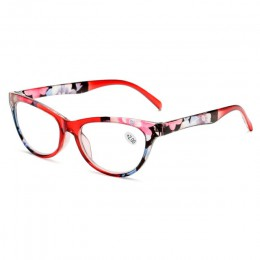 Elbru kocie okulary do czytania kobiety lekkie okulary do czytania dla osób starszych 1.0 1.5 2.0 2.5 3.0 3.5 4.0 okulary starcz