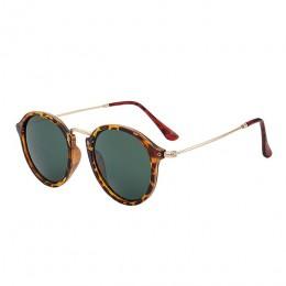 Psacss okulary przeciwsłoneczne damskie/męskie 2019 Vintage okrągłe okulary przeciwsłoneczne wysokiej marka jakości okulary prze