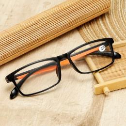 Iboode TR90 Ultralight kobiety okulary do czytania dla mężczyzn Retro przezroczyste soczewki okulary do czytania kobieta mężczyz