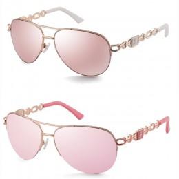FENCHI okulary przeciwsłoneczne damskie uv 400 óculos damskie okulary przeciwsłoneczne lustro Pilot różowy feminino zonnebril da