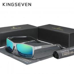 KINGSEVEN 2020 męskie okulary aluminium magnezu spolaryzowane do jazdy lustrzane dla mężczyzn/kobiet UV400 óculos