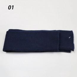 Sparsil kobiety jesień długość łokcia kaszmirowe dzianiny rękawiczki jednokolorowe miękkie 40cm rękawiczki bez palców długa, cie