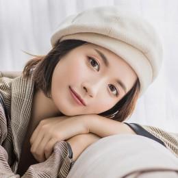 2019 nowy elegancki kobiety chusta Beret dla moda zima kobiet bawełna wełniane czapki czapka jesień 2019 Brand new kobiety jest
