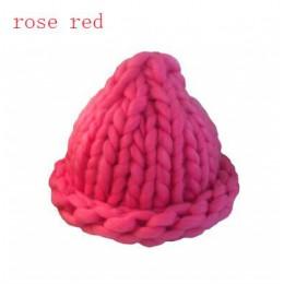 BINGYUANHAOXUAN 2017 moda damska zimowa wełniana czapka gruba linie zewnątrz ciepła czapka typu beanie dzianiny kapelusz Multico
