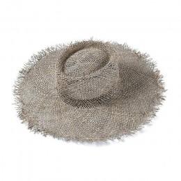 Moda oddychająca zielona słomka przeciwsłoneczne kapelusze plażowe dla kobiet kapelusz rozmiar 56-57 cm fajne panie kapelusz na