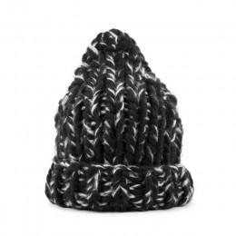 Geebro 2019 damskie zimowe ciepłe mieszane kolor czapki ręcznie gruby kij dzianiny grube linie kapelusz szydełka kobiety piękne