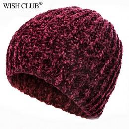 2020 nowy stylowy czapka zimowa materiał Chenille czapki zimowe dla kobiet ciepły czapka z dzianiny kobieta jesień czapki Lady H