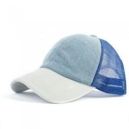 2019 kucyk czapka z daszkiem roztrzepany kok czapki dla kobiet zmiękczana bawełna czapki z daszkiem dorywczo letnia osłona przec