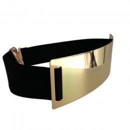 Gorące pasy Designer dla kobiety złoty srebrny markowy pasek Classy elastyczna ceinture femme 5 kolorów pas panie akcesoria odzi